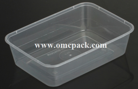 PP rectangular food container